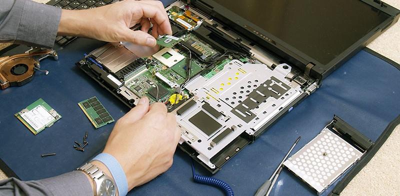 Reparație parte alimentare laptop